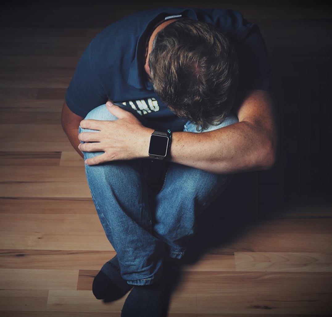 Person Feeling Depressed